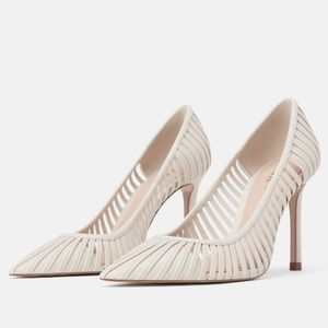 Zara Strappy Heeled Shoes